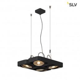 SLV 159230 aixlight r2 square zwart 4xgu10