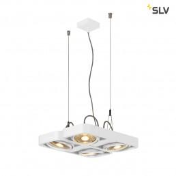 SLV 159231 aixlight r2 square wit 4xgu10