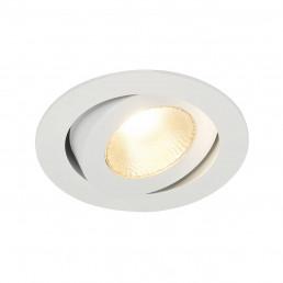 SLV 161271 Contone Led Round wit inbouwspot