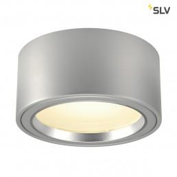 SLV 161464 LED zilvergrijs opbouwspot