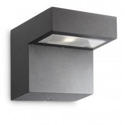 Philips Riverside 163209316 antraciet Ledino Outdoor wandlamp