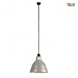 SLV 165350 Para 380 zilvergrijs hanglamp