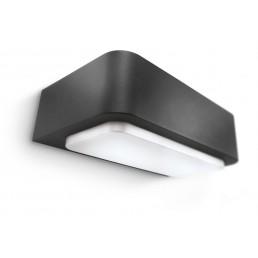 Aanbieding Philips Flowerbed 169009316 antraciet Ecomoods Outdoor wandlamp
