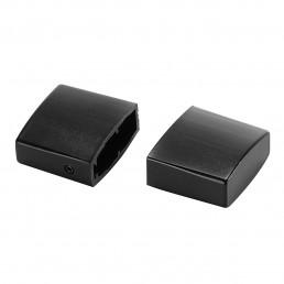 SLV 184140 eindkappen voor easytec ii 2 stk. zwart