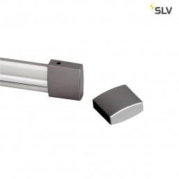 SLV 184142 eindkappen voor easytec ii 2 stk. zilvergrijs