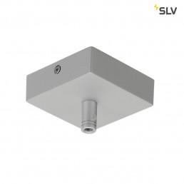 SLV 210064 plafondrozet glenos zilver 85x85x27cm