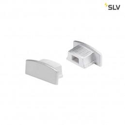 SLV 213834 eindkappen glenos lijnprofiel 1809 zilver, 2st