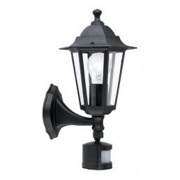 22469 Laterna 4 met sensor Eglo wandlamp buitenverlichting