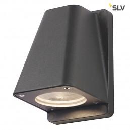 SLV 227195 Wallyx GU10 antraciet wandlamp buiten