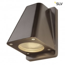 SLV 227198 Wallyx GU10 antiek brons wandlamp buiten