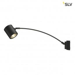 SLV 228535 Enola_C Curved antraciet led wandlamp buiten