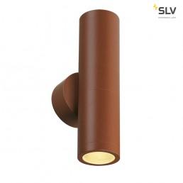 SLV 228777 Astina Out ESL roest wandlamp