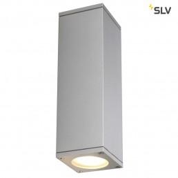 Actie SLV 229532 Theo Up-Down Out zilvergrijs wandlamp buiten