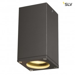 SLV 229585 Theo Ceiling Out antraciet plafondlamp buiten
