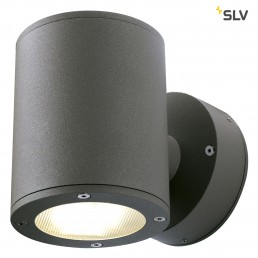 SLV 230365 Sitra Wall Up en Down antraciet wandlamp buiten