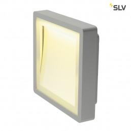 SLV 230884 Indigla LED zilvergrijs wandlamp buiten