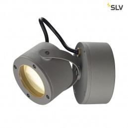 SLV 231514 Sitra 360 WL steengrijs wandlamp buiten