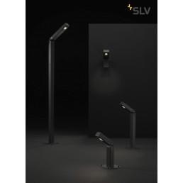 231865 SLV bendo antraciet wandlamp 1xled 3000k