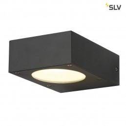 SLV 232285 Quadrasyl WL 15 antraciet wandlamp buiten