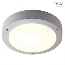 SLV 232424 Dragan sensor zilvergrijs wandlamp buiten