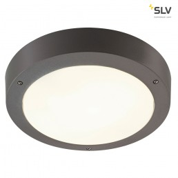 SLV 232425 Dragan sensor antraciet wandlamp buiten