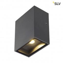 SLV 232435 Quad 1 XL LED antraciet wandlamp buiten