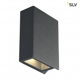 SLV 232475 Quad 2 Up & Down antraciet wandlamp
