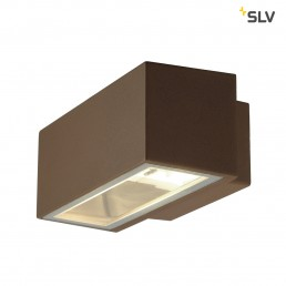 SLV 232487 Box R7s roest kleur wandlamp buiten