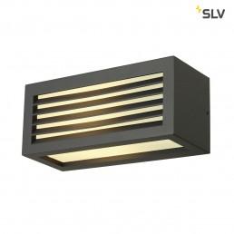 SLV 232495 Box-L E27 antraciet wandlamp buiten