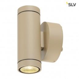 SLV 233233 helia up/down beige 2x6w led 3000k