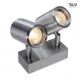 SLV 233301 sst 304 2xspot roestvrij staal 2xgu10