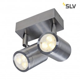 SLV 233311 sst 316 2xspot roestvrij staal 2xled 3000k