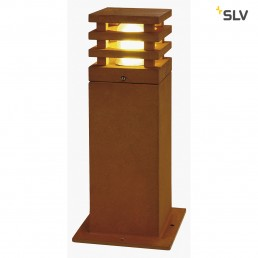 SLV 233427 Rusty Square 40 LED tuinverlichting cortenstaal
