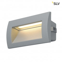 SLV 233624 Downunder Out LED M zilvergrijs wand inbouwspot