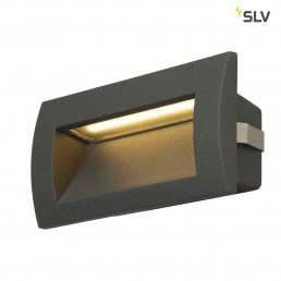 SLV 233625 Downunder Out LED M antraciet wand inbouwspot
