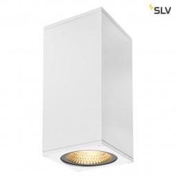 234511 SLV big theo wall wit 2xled 3000k flood/beam