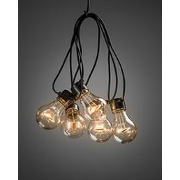 2372-800 Konstsmide lichtsnoer heldere lampen op batterijen