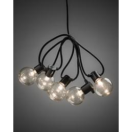 2373-100 Konstsmide lichtsnoer heldere lampen op batterijen
