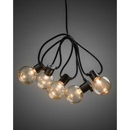 2373-800 Konstsmide lichtsnoer heldere lampen op batterijen