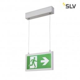 SLV 240001 p-light 27 pl noodverlichting exit sign klein pendel