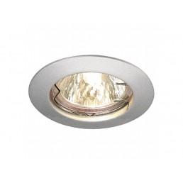 Aanbieding SLV 111189 Pika zilvergrijs MR16 inbouwspot