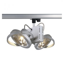 SLV 153012 Tec 2  zilvergrijs 3-fase railverlichting