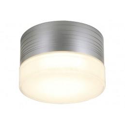 SLV 229912 Micro Flat zilvergrijs wandlamp buiten