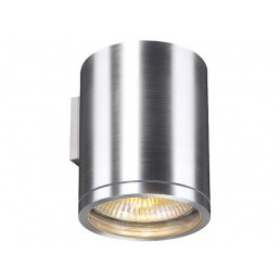 Aanbieding SLV 229766 Rox Wall Out alu wandlamp