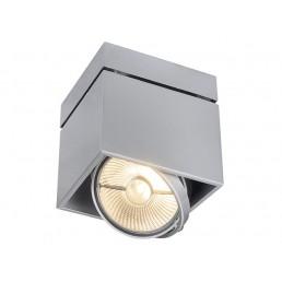 Aanbieding SLV 117104 Kardamod Surface Square ES111 single zilvergrijs plafondlamp