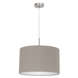 31572 Eglo Pasteri taupe hanglamp