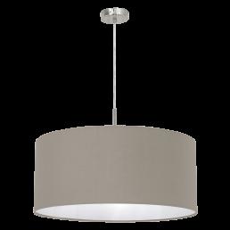 31576 Eglo Pasteri taupe hanglamp