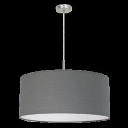 Aanbieding 31577 Eglo Pasteri grijs hanglamp