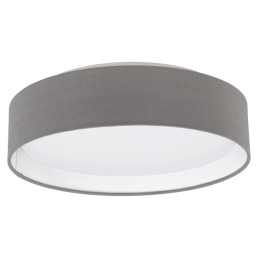 31593 Eglo Pasteri antraciet plafondlamp