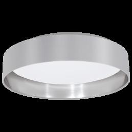 Actie 31623 Eglo Maserlo grijs / zilver plafondlamp